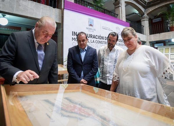 La secretaria de Turismo y Cultura, Margarita González Saravia, aseveró que los archivos que ahí se exhiben provienen de diversos acervos locales y nacionales