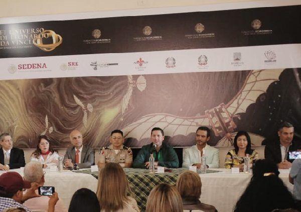 En rueda de prensa, integrantes de la Fundación Echazarreta, Secretaría de Relaciones Exteriores, Secretaría de la Defensa Nacional, Secretaría de Turismo y Cultura de Morelos (STyC) y del Ayuntamiento de Cuernavaca anunciaron este magno evento