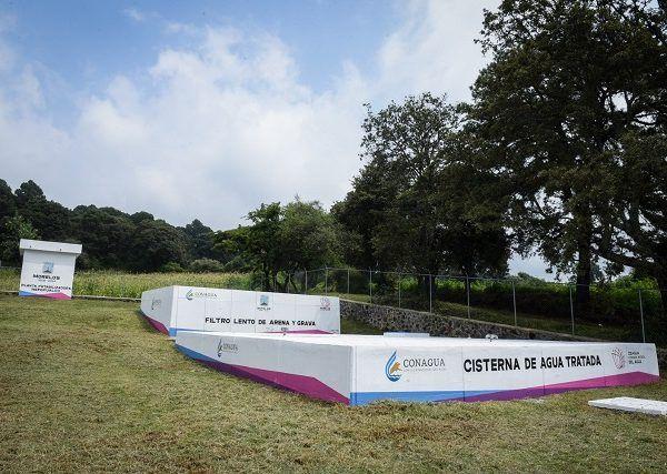La obra, para la cual se destinaron más de 14.8 millones de pesos, beneficiará a casi dos mil 200 habitantes de la localidad