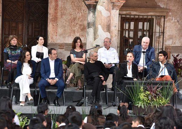 En este evento, en el que estuvo presente la presidenta del Sistema DIF estatal, Natália Rezende Moreira, fue realizado en la cabecera municipal de Tlayacapan