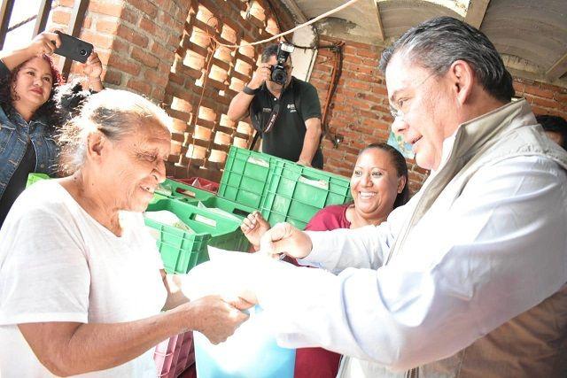 Durante el evento de inauguración del expendio de leche social, el alcalde Rafael Reyes Reyes refrendó el compromiso de su administración de llevar acciones suficientes, así como las gestiones necesarias que permitan brindar seguridad alimentaria de los vecinos de la demarcación