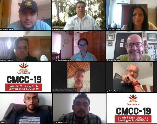 Durante la décimo sexta reunión y quinta virtual, se acordó que el CMCC-19 continué monitoreando el comportamiento de la enfermedad en México y el mundo ante los diversos escenarios que pudieran presentarse