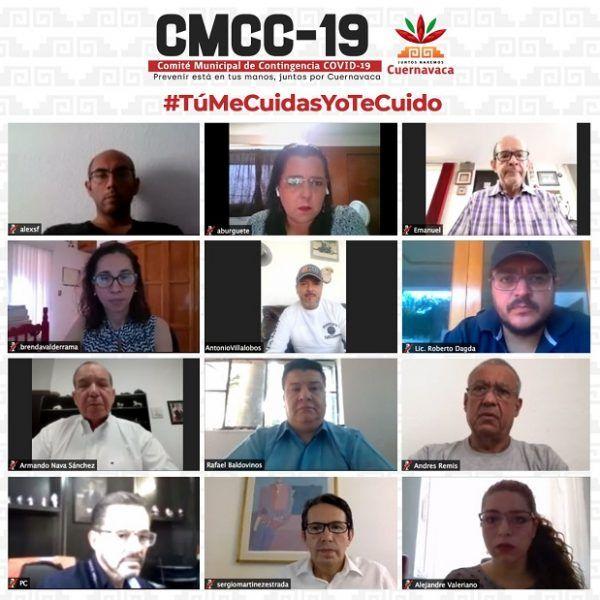 Los miembros del CMCC-19 reconocieron el liderazgo que ha asumido el alcalde Antonio Villalobos Adán para implementar medidas acordes a una emergencia sanitaria de la magnitud actual