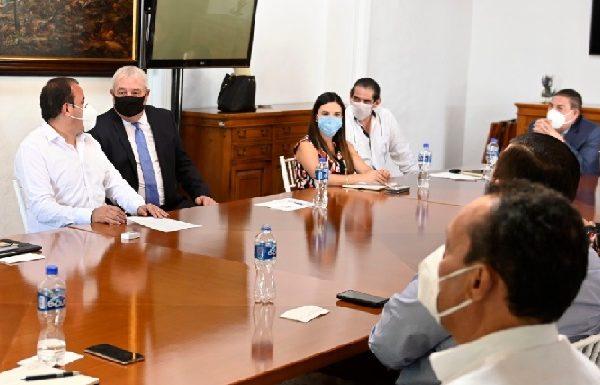 Aseguró que para que Morelos se levante lo más pronto posible de la difícil situación causada por la contingencia sanitaria, se debe reforzar el trabajo interinstitucional y continuar principalmente con las metas de desarrollo social, económico, seguridad y obra pública trazadas por su Gobierno
