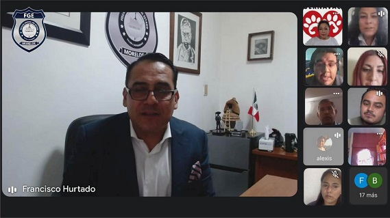 Hurtado Delgado resaltó que han sido instrucciones precisas del Fiscal general Uriel Carmona Gándara el dar seguimiento a un tema tan sensible para la sociedad como lo es la protección de los animales