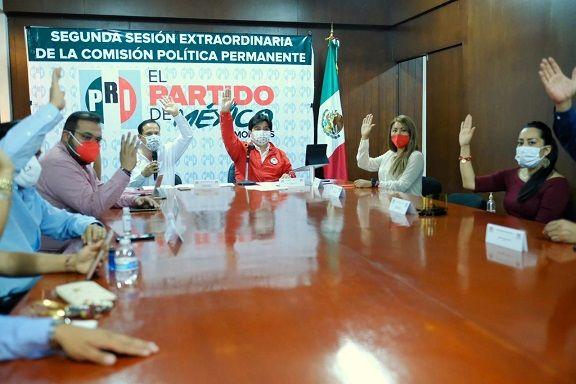 el presidente del PRI Morelos, Jonathan Márquez, resaltó que el partido está listo para recuperar la confianza de la ciudadanía y darle resultados desde el Congreso del Estado; y aseguró que el tricolor tendrá una bancada fuerte, que dé conducción política a la entidad