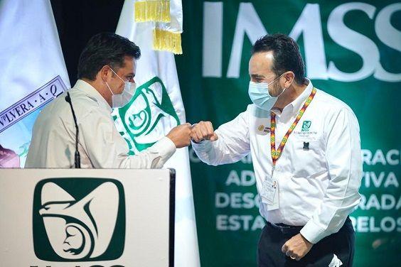 El director general del Seguro Social, Zoé Robledo, reconoció al personal de salud que se ha convertido en el protagonista en el combate a la pandemia.